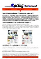 22 La Lettre du Racing Club Normand